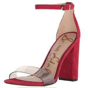 Sam Edelman Yaro Clear sandals